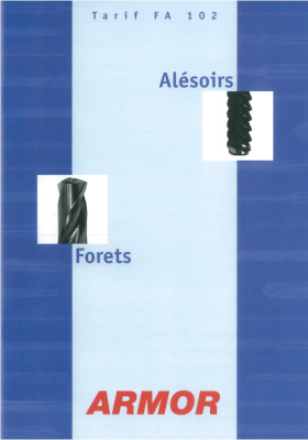 Catalogue Forets Alésoirs 2002